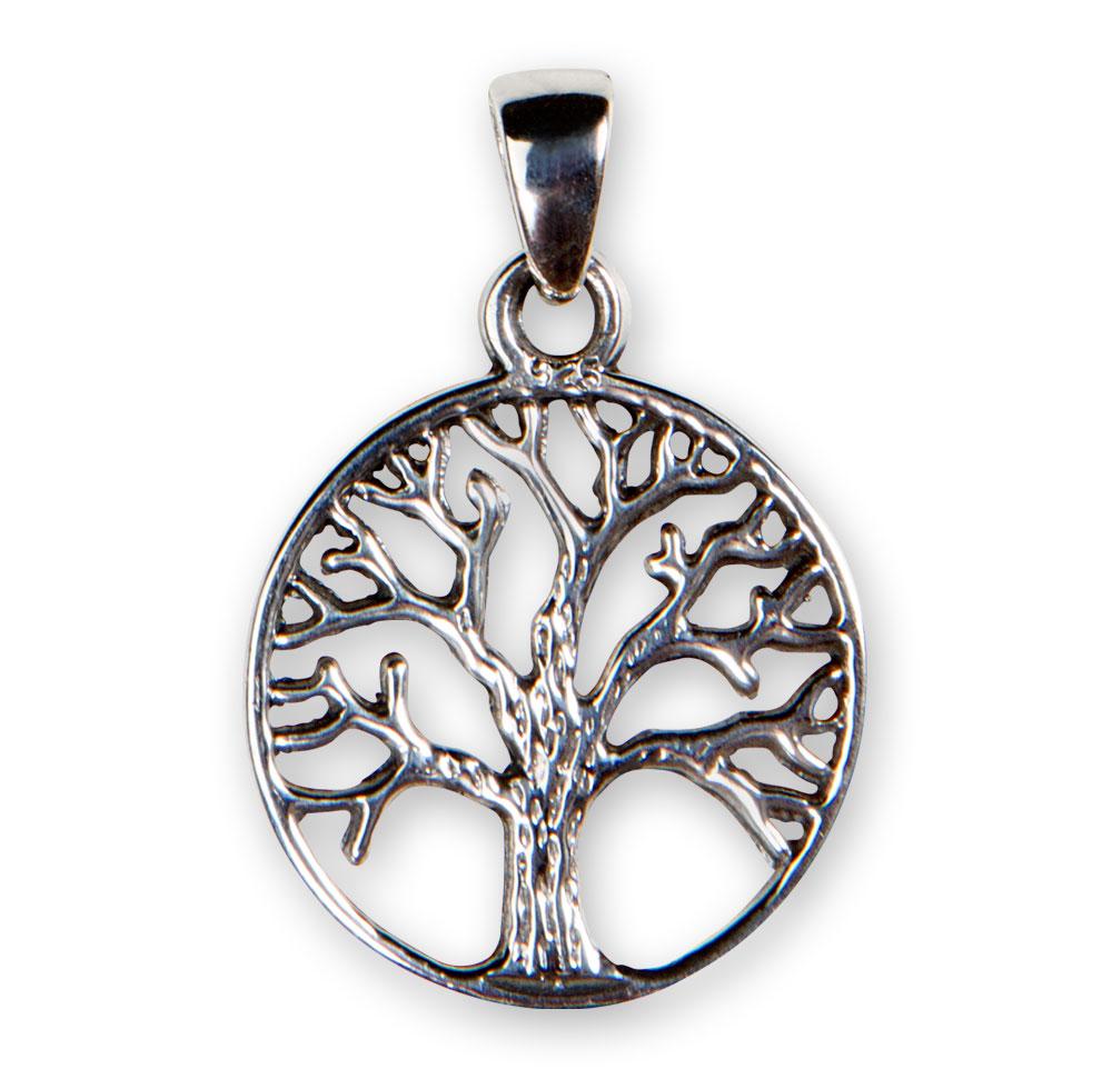 3bbc1ce49 Vedhæng i sølv med Yggdrasil - Livets træ - Diverse historiske smykker -  Smykker | Nationalmuseet