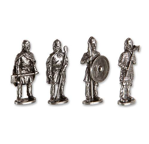 Vikingefigurer - tin