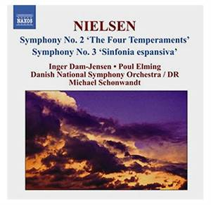 Nielsen: Symphony No. 2 'The Four Temperaments'& Symphony No. 3 'Sinfonia espansiva' - 1 CD