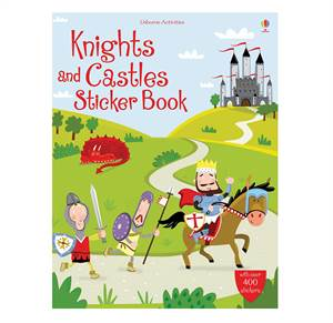 Knights and Castles Sticker Book. From 5 yr.