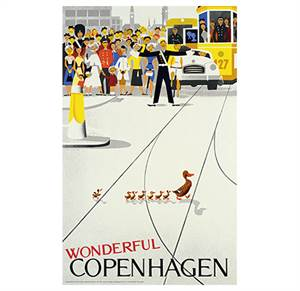 Wonderful Copenhagen - lille plakat
