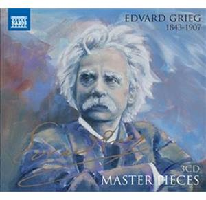 Master Pieces - Edvard Grieg - 3 CD
