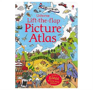 Lift-the-flap Picture Atlas. Fra 6 år.