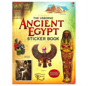 Ancient Egypt Sticker Book. Fra 7 år