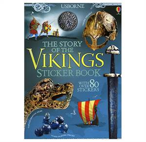 The Story of the Vikings - Sticker Book.