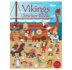 Vikings Sticker Book. From 5 yr.