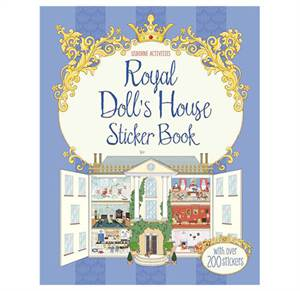 Royal Doll's House Sticker Book. Fra 5 år