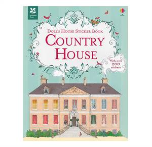 Landstedet - Dukkehus med klistermærker - Country House - Doll's House Sticker Book
