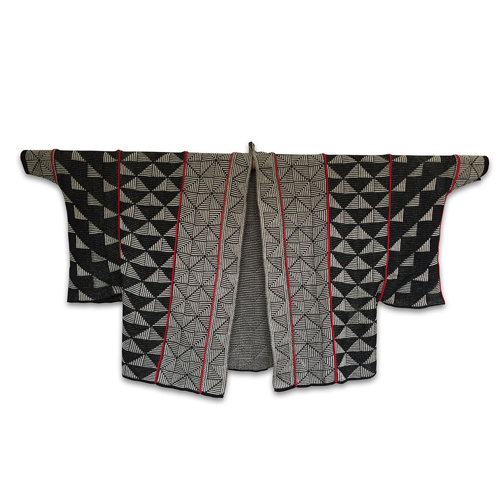 fed1b098 Sort Kimono jakke Small/Medium - Strik og silke - Shop | Nationalmuseet